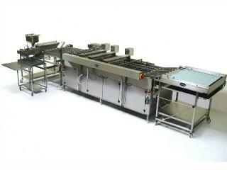 Automatyczny przelotowy smażalnik JUFEBA serii USD